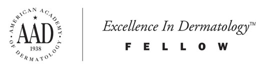 Excellence in Dermatology Fellow - American Academy of Dermatology Logo